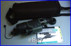 YUKON SPARTAN 5 MONOCULAR NIGHT VISION 3x42 VIEWER RIFLE SCOPE IR AND LASER KIT