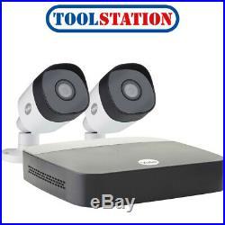 Yale 1080P CCTV Kit SV-4C-2ABFX-2 2 x Camera