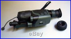 Yukon Nvmt Spartan 5 Monocular Night Vision Viewer Rifle Scope Kit Ir And Laser