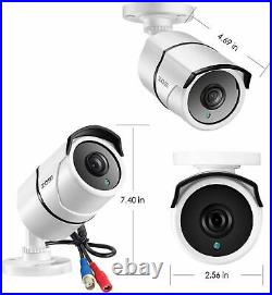 ZOSI 4K CCTV System 8MP Camera Ultra HD 8CH DVR Security System Kit Outdoor IP67