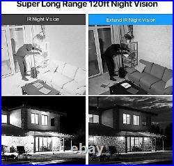 ZOSI 5MP HD CCTV Camera 8CH DVR Home Security System Kit Outdoor IR Night Vision