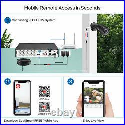 ZOSI Home Security Camera CCTV System Kit 8CH 1080N HDMI DVR 3000TVL Outdoor HD