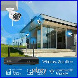 ZOSI Wireless Security System 1080P Wifi IP Camera 8CH NVR 1TB CCTV Kit Outdoor